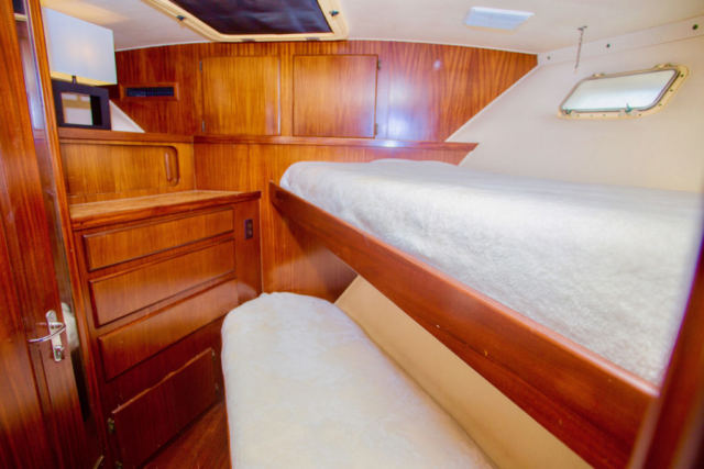 75 ft. Hatteras - Power Yacht - Up to 40 People - Bunk-room
