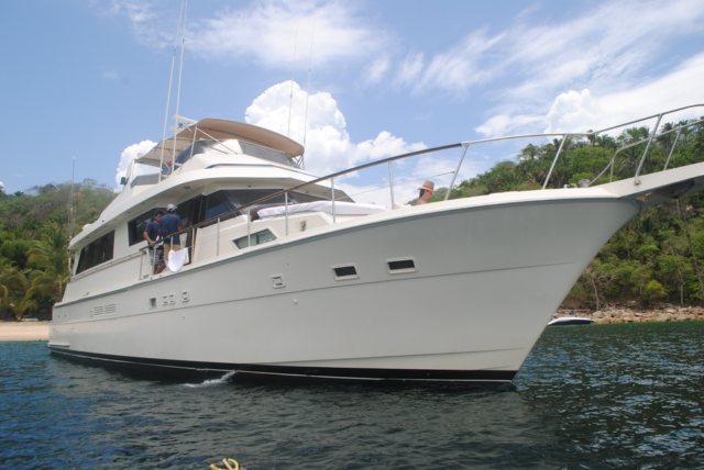75 ft. Hatteras - Power Yacht - Up to 40 People
