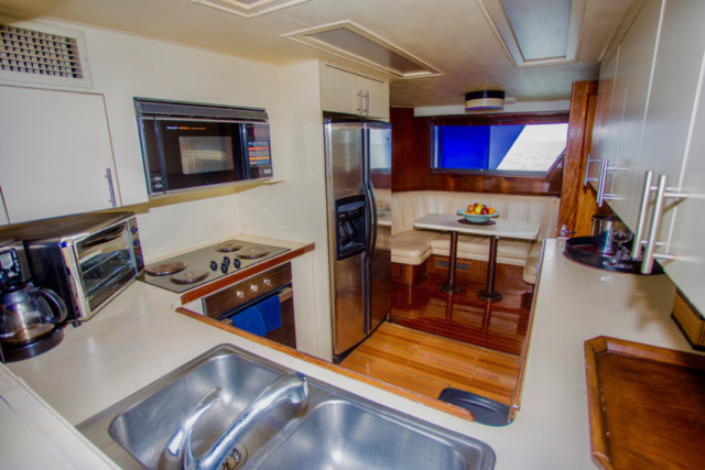 75 ft. Hatteras - Power Yacht - Up to 40 People - Galley