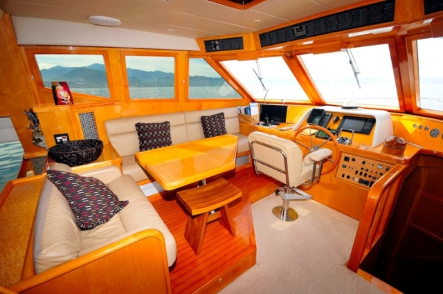 57 ft. McKinna - Power Yacht - Up to 12 People - Helm & Seating