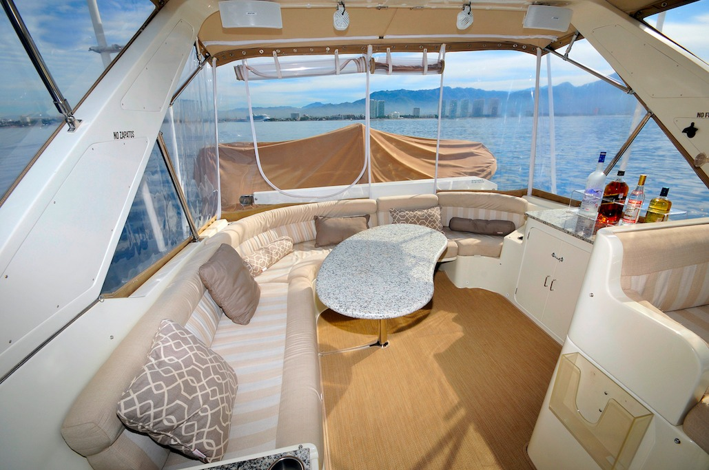 57 ft. McKinna - Power Yacht - Up to 12 People - Flybridge