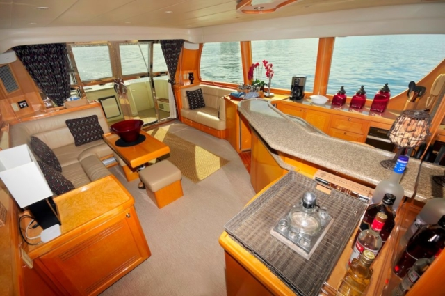 57 ft. McKinna - Power Yacht - Up to 12 People - Interior