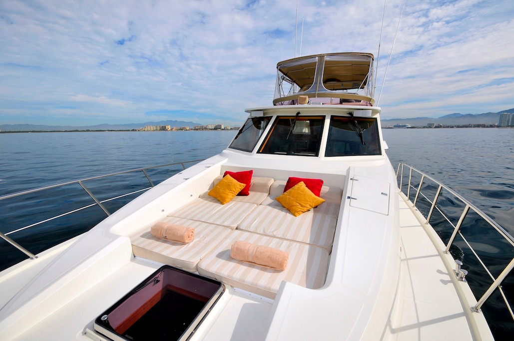 57 ft. McKinna - Power Yacht - Up to 12 People - Bow