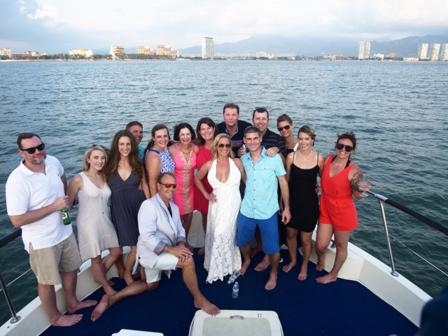 75 ft. Hatteras - Power Yacht - Up to 40 People - Weddings