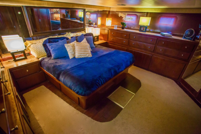 75 ft. Hatteras - Power Yacht - Up to 40 People - Master Stateroom