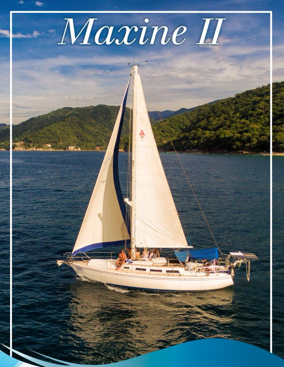 36 ft. Catalina Sailboat - Up to 10 People
