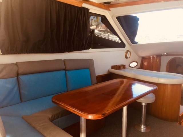 38 ft.MediterraneanSport Fishing Boat - Up to 14 People Touring (8 Fishing Max)