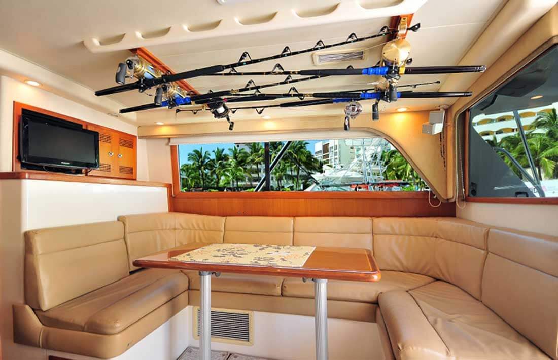35-ft-Cabo-fishing-yacht-Dinette-and-Seating-Area-within-an-Air-Cond-Cabin
