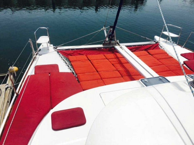 38 FT Lagoon Catamaran - Up to 20 People – (max. 8 to Marieta Islands)-Bow-View