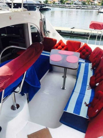 38 FT Lagoon Catamaran - Up to 20 People – (max. 8 to Marieta Islands)-Main-Welcome-Deck