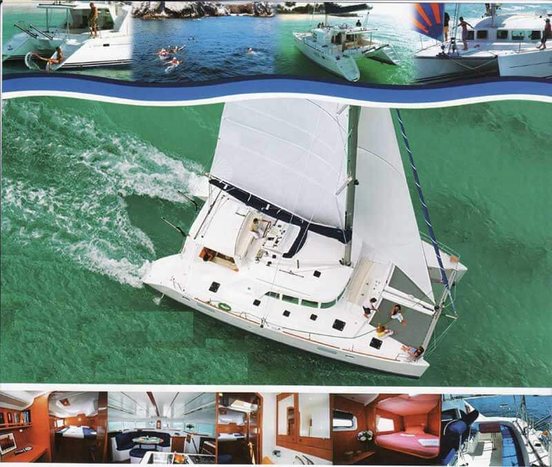 38 FT Lagoon Catamaran - Up to 20 People – (max. 8 to Marieta Islands)-collage