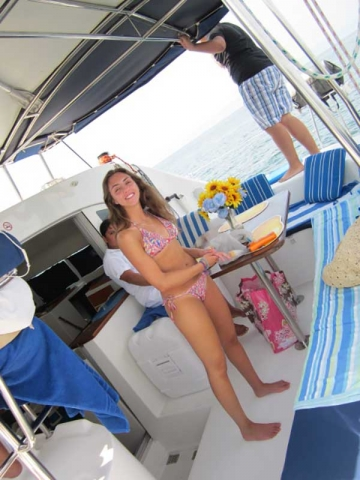 38 FT Lagoon Catamaran &- Up to 20 People – (max. 8 to Marieta Islands)-guests
