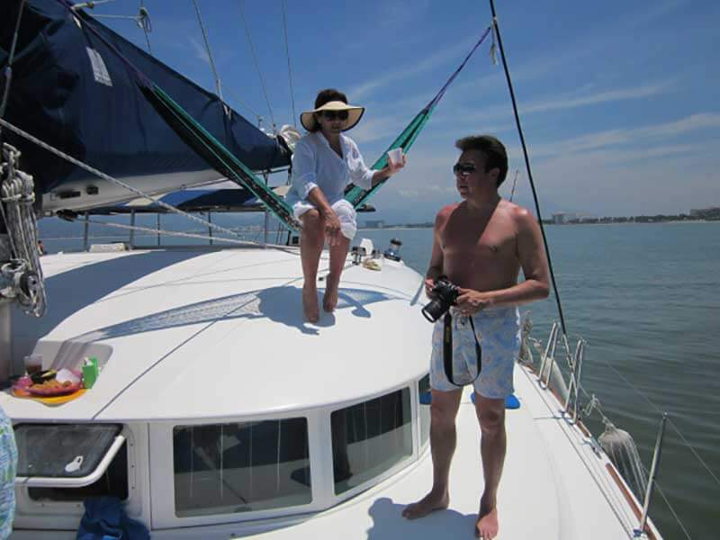 38 FT Lagoon Catamaran - Up to 20 People – (max. 8 to Marieta Islands)-guests3