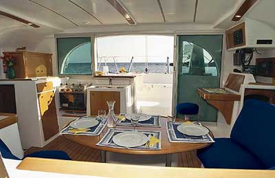 38 FT Lagoon Catamaran - Up to 20 People – (max. 8 to Marieta Islands)-terrace-view