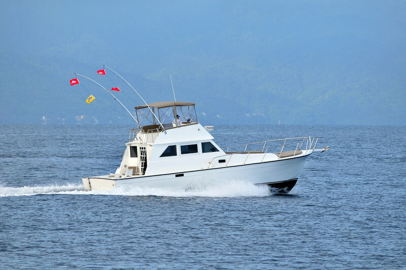 40 ft. Custom Luxury Fishing Boat - Up to 10 People