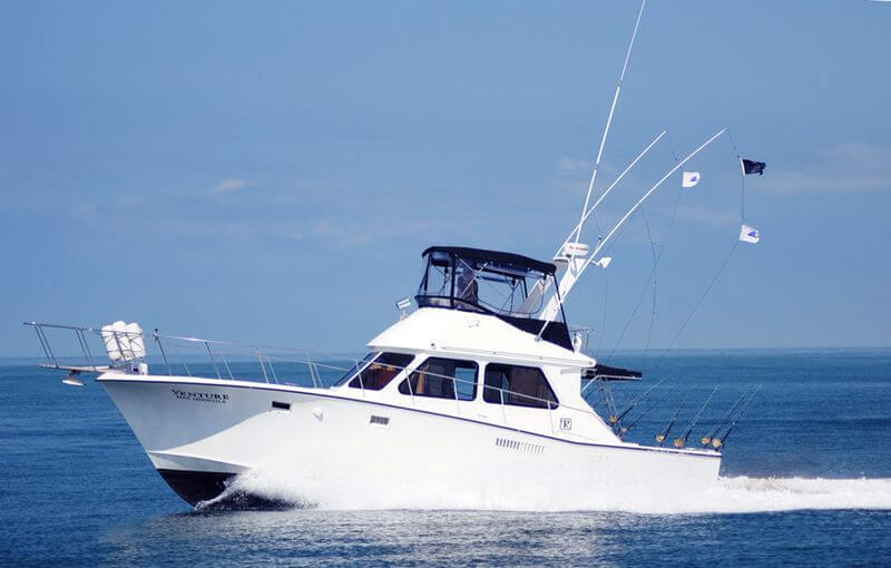 44 ft. Pacifica Fishing Boat - Up to 8 People