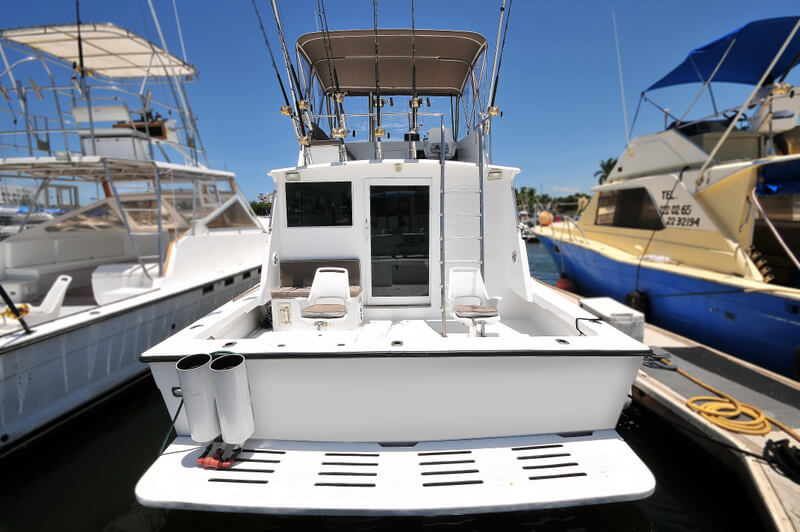 40 ft. Custom LuxuryFishing Boat-Up to 10 People - Wide Beam tuna tubes fighting chairs tackle and fly-bridge