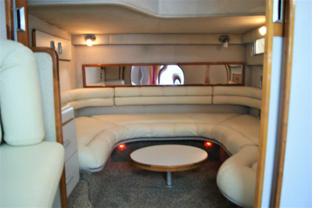 42 FT Sea Ray - Private Lounging win the cabin