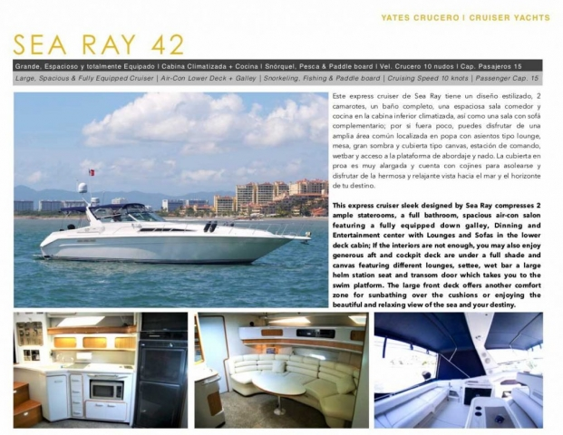 42 FT Sea Ray - flyer