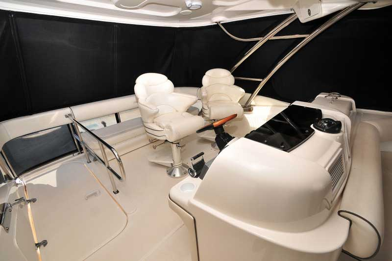 60 FT Sea Ray - Power Yacht - Up to 18 people - Hard-top-Flybridge