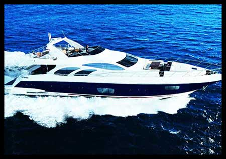 98 FT Azimut Leonardo - Luxury Power Yacht - Up to 30 People
