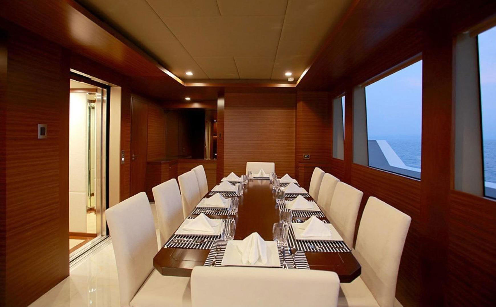 150-ft.-Luxury-Power-Yacht-–-Up-to-200-People - dining