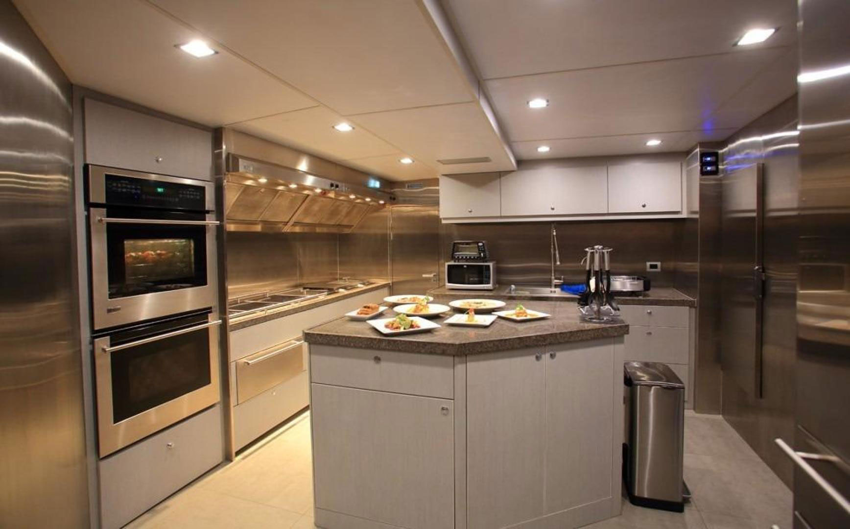 150-ft.-Luxury-Power-Yacht-–-Up-to-200-People - galley