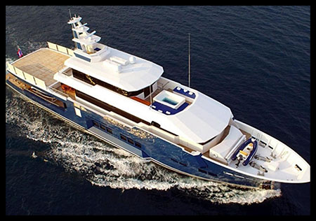 150 ft. Luxury Power Yacht - Up to 200 People
