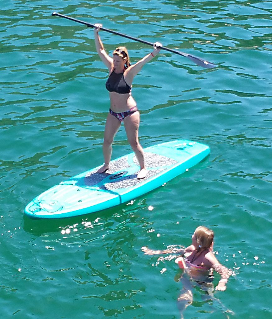 paddleboarding in Puerto Vallarta