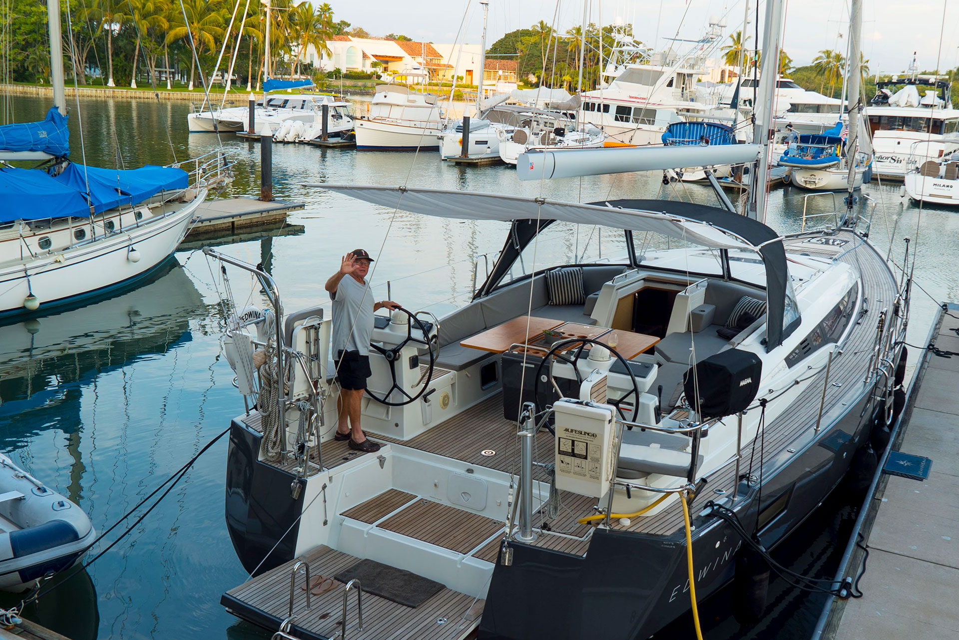 54ft-Jeanneau-sailing-yacht-at-Dock