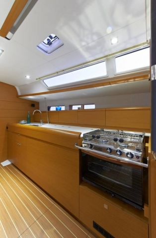 48 ft. Sun Odyssey 479 - Luxury Sailboat - Up to 8 People - galley