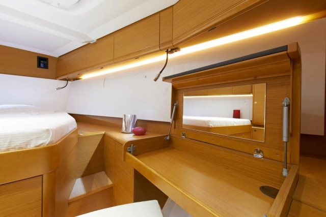 48 ft. Sun Odyssey 479 - Luxury Sailboat - Up to 8 People - stateroom