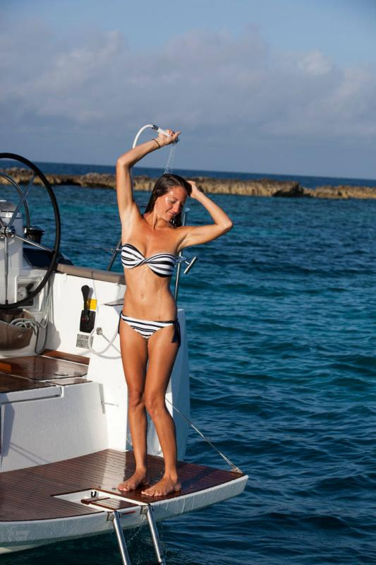 48 ft. Sun Odyssey 479 - Luxury Sailboat - Up to 8 People  - fresh water shower