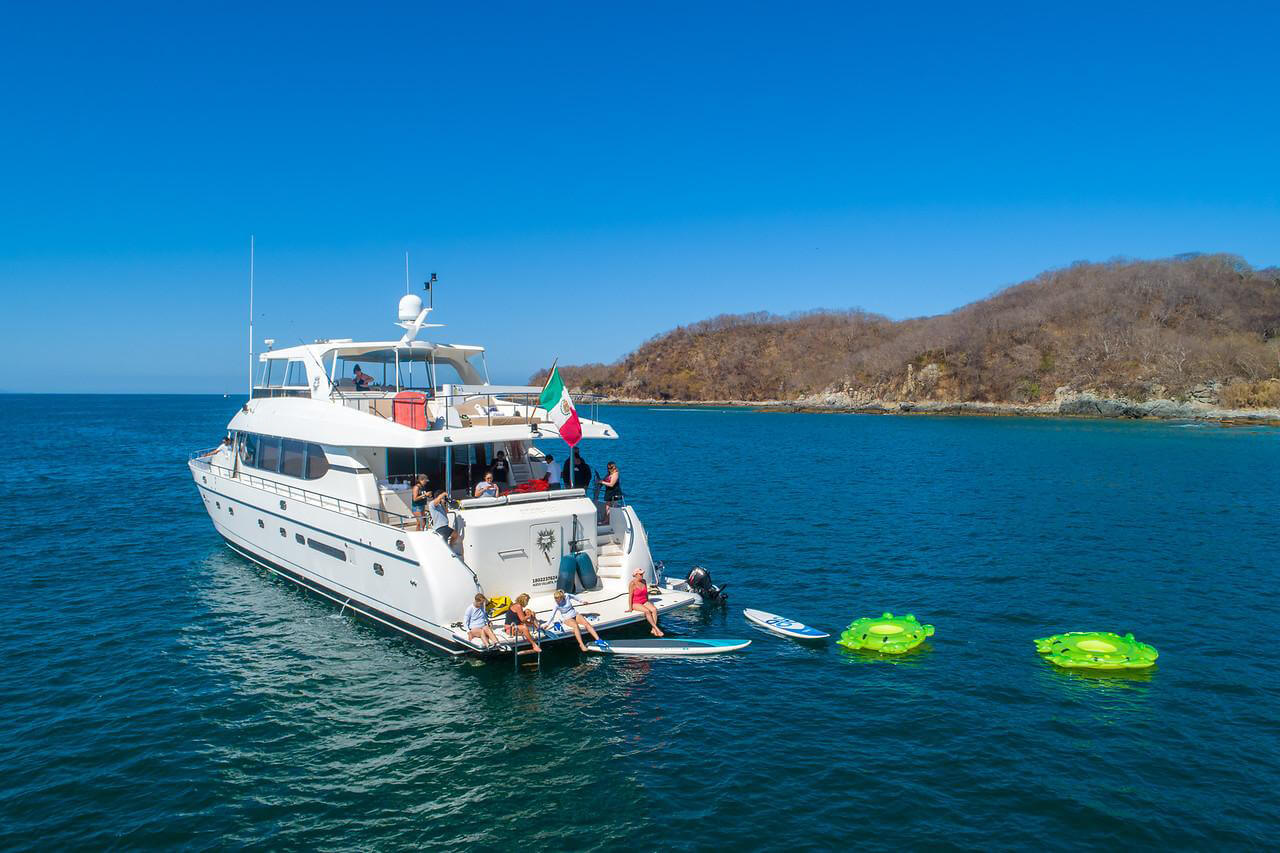 82 ft. Monte Fino - Power Yacht - Up to 35 People - water toys