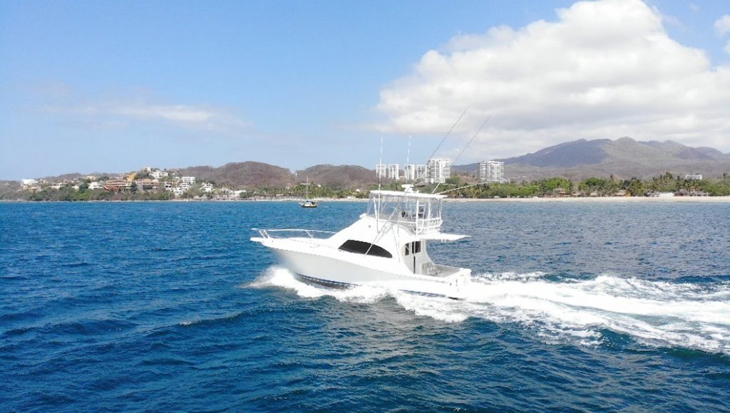 Luhrs 45 boating